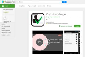 Cómo hacer un currículum vitae desde el Smartphone curriculim manager