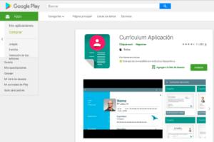 cómo hacer un currículum curriculum aplicaciónvitae desde el Smartphone con