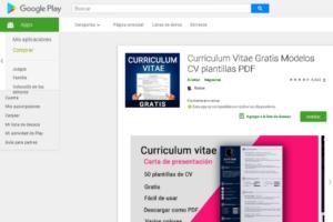 cómo hacer un currículum vitae desde el Smartphone