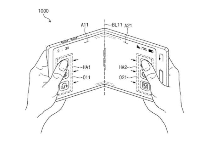 Nuevas pistas sobre el móvil plegable de Samsung