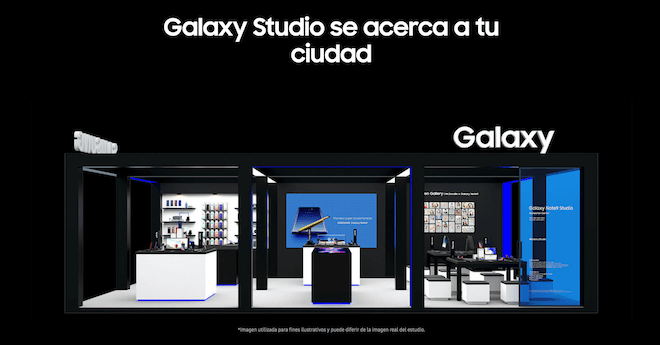 El Galaxy Studio acerca la tecnología de Samsung a tu ciudad