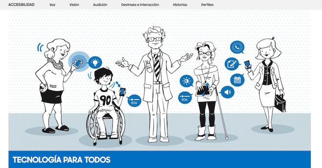 Tecnología para Todos, la Web para consultar todo sobre la accesibilidad de los dispositivos Samsung