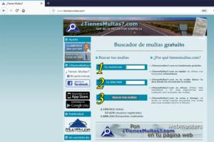 web tienesmultas.com