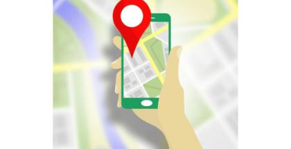 imagen de ubicación desde el móvil