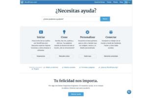 Características principales WordPress