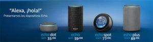 Altavoz inteligente de Amazon, Echo