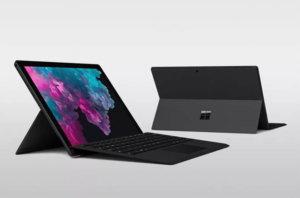 Características de la Microsoft Surface Pro 6
