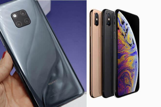 Huawei Mate 20 PRO Vs iPhone XS Max: Comparativa de sus puntos clave