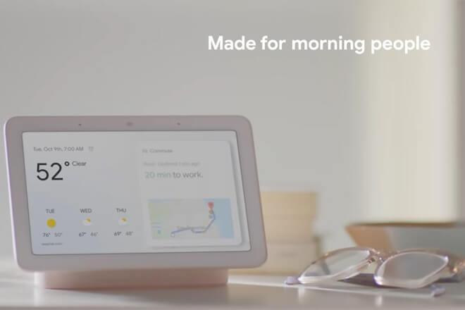 Google Home Hub, el altavoz inteligente con pantalla de Google