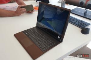 HP Spectre Folio tiene cuatro modos distintos de uso: folio, portátil, multimedia y tableta