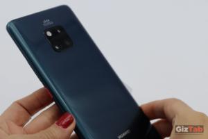 Cara posterior del Huawei Mate 20 PRO