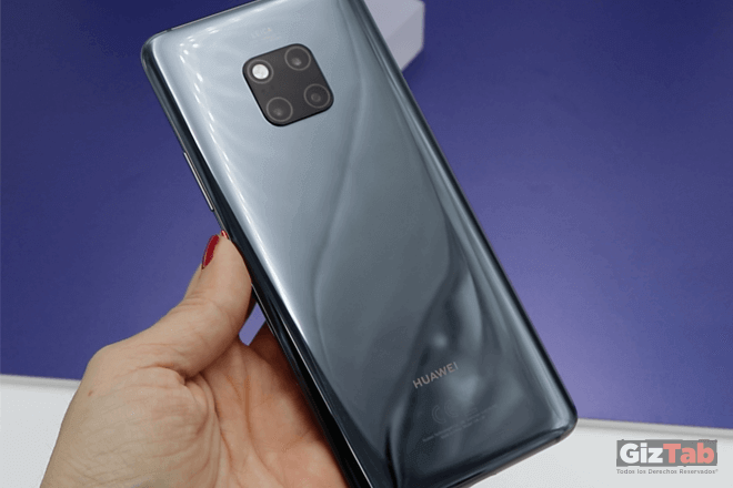 Materiales de primera conforman el Huawei Mate 20 PRO