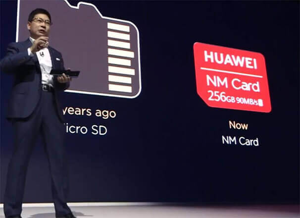 Foto de la NM Card de Huawei