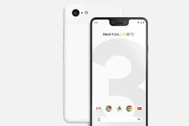 Precio de Google Pixel 3 y 3XL