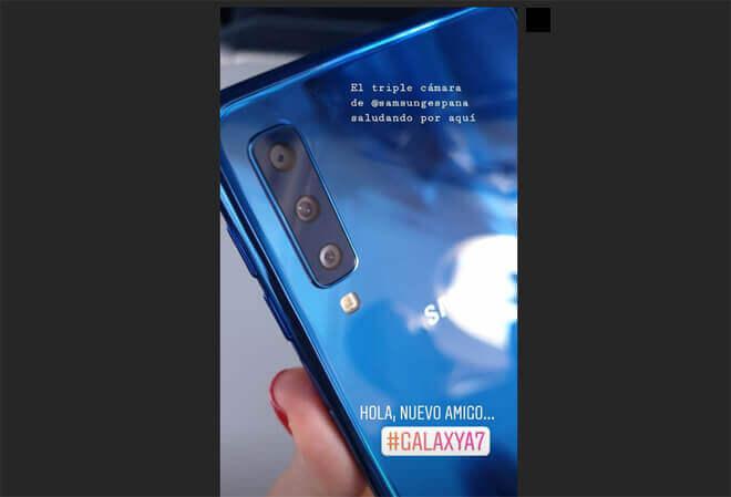 Precio del Samsung Galaxy A7 2018 en España.