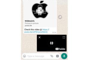 Ahora podrás ver un video en whatsapp sin dejar de chatear