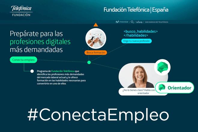 Fundación Telefónica crea la plataforma Conecta Empleo, una radiografía de la empleabilidad digital en España en tiempo real