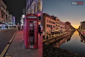 Londres y Milán de noche, captados con el Huawei Mate 20 Pro