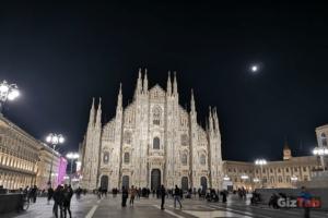 Catedral de Milán, captada con el Huawei Mate 20 Pro