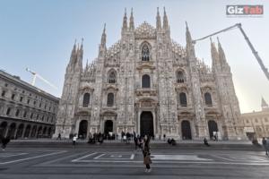 Catedral de Milán fotografiada con luz natural con el Huawei Mate 20 Pro y su triple cámara Leica
