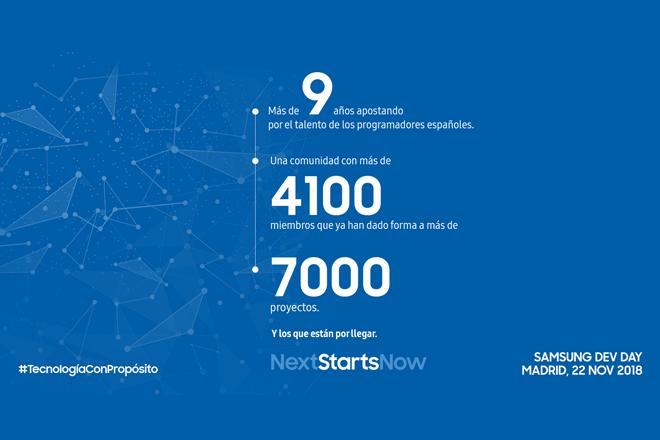 Samsung Dev Spain celebra su novena edición con la comunidad de desarrolladores españoles