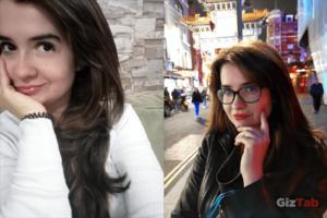 Comparatica de selfies captados con el Huawei Mate 20 Pro