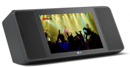Altavoz inteligente de LG compatible con Google Assistant