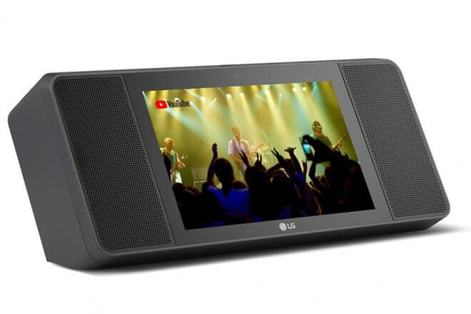 Así es el altavoz inteligente de LG compatible con Google Assistant