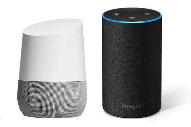 comparativa de Google Home Vs Amazon Echo