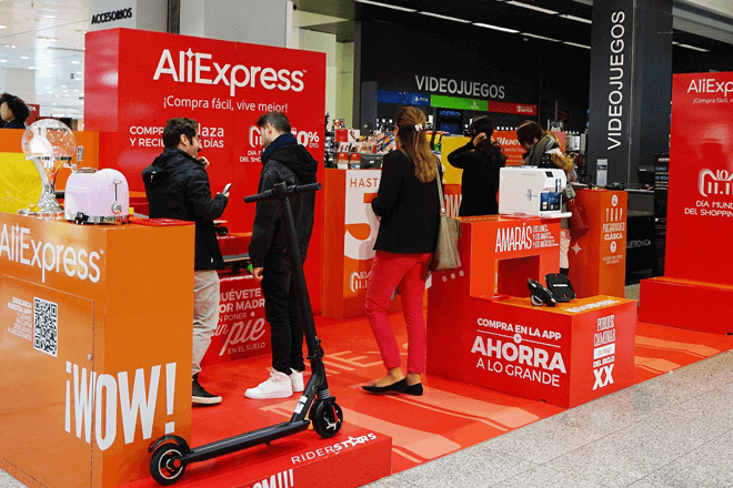 AliExpress abre una tienda física en Madrid para impulsar sus ofertas del 11.11