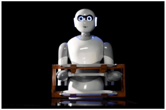 imagen del robot mesero Ginger
