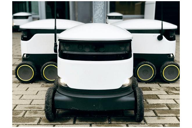 Reino Unido ya cuenta con robots delivery