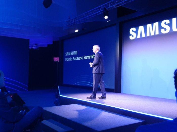 Samsung muestra sus soluciones de productividad y avances en 5G en el Mobile Business Summit