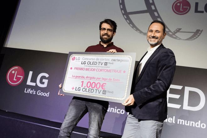 Participación de LG en el festival Cortogenia