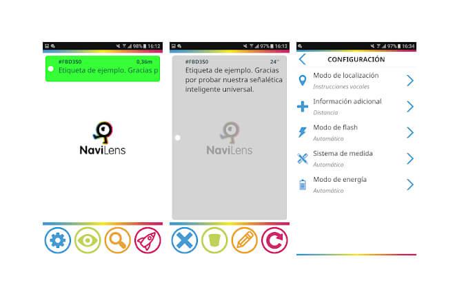 NaviLens, la app que facilita la movilidad en las ciudades a las personas invidentes