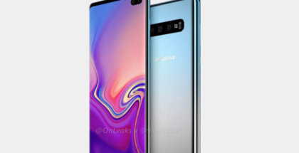 Samsung Galaxy S10 con Notch y 6 cámaras