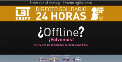 A través del #StreamingSolidario gaming, las principales compañías del mundo del entretenimiento, encabezadas por OMEN by HP, se unen a los más populares youtubers: Chincheto, Tonacho, Alexelcapo y Sarinha, para apoyar el proyecto de la Fundación Juegaterapia, 'La Paz en órbita'.
