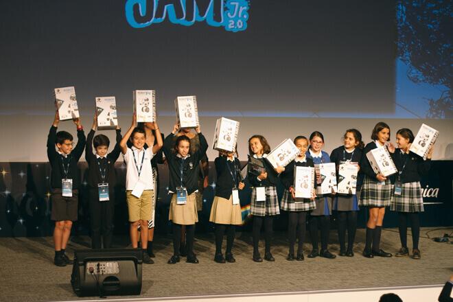 Game Jam Junior: Telefónica premia los mejores videojuegos hechos por niños