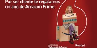Vodafone regala a sus clientes una suscripción  de 1 año a Amazon Prime