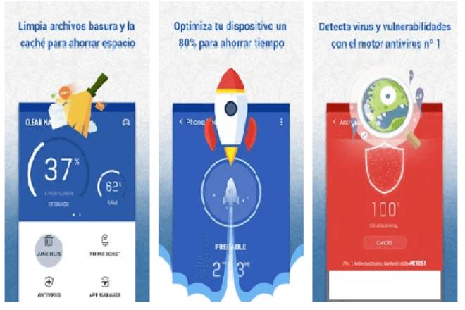 Limpiador de m vil gratis y sin publicidad basura las - Limpiador de errores gratis ...