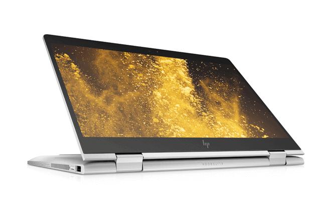 Los nuevos productos incluyen HP EliteBook x360 830 G5, el convertible profesional más luminoso del mundo