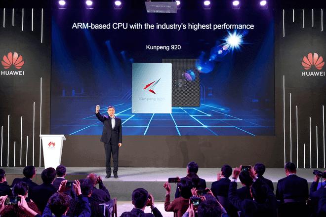 Huawei presenta Kunpeng 920, la CPU basada en ARM de mayor rendimiento de la industria