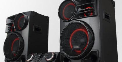 Nuevos altavoces XBOOM de LG