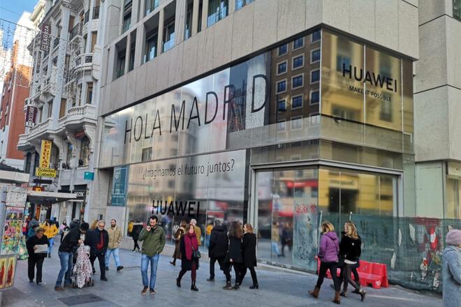 Tienda Huawei en Madrid