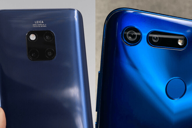 Honor View 20 Vs Huawei Mate 20 Pro: Comparativa de características y diferencias