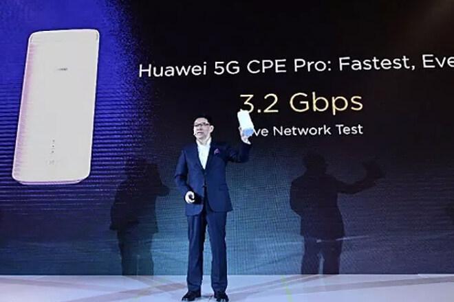 Así es el primer smartphone 5G de Huawei