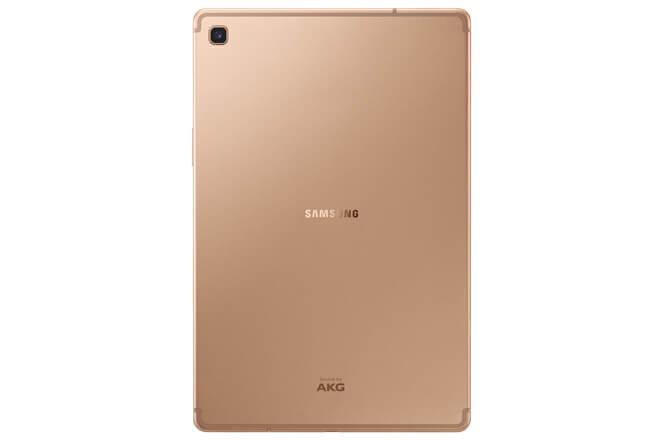 Diseño del Samsung Galaxy Tab S5e