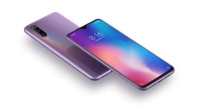 imagen de tres modelos del Xiaomi Mi 9