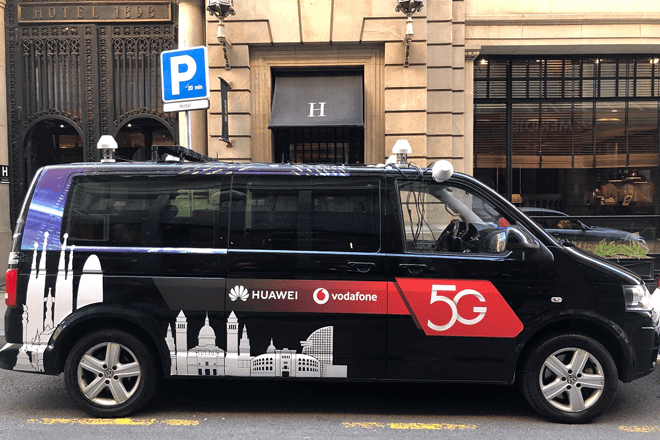 Huawei y Vodafone se unen para implementar la primera red 5G de alto rendimiento