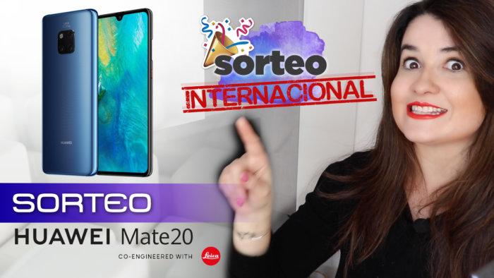 Sorteo internacional: ¡Gana un Huawei Mate 20!